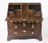 Antique English William & Mary Bureau 17th C-6