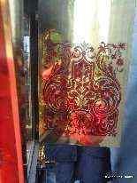 Horloge sur gaine de 2m35 marqueterie Boulle ép Napoléon 3-15