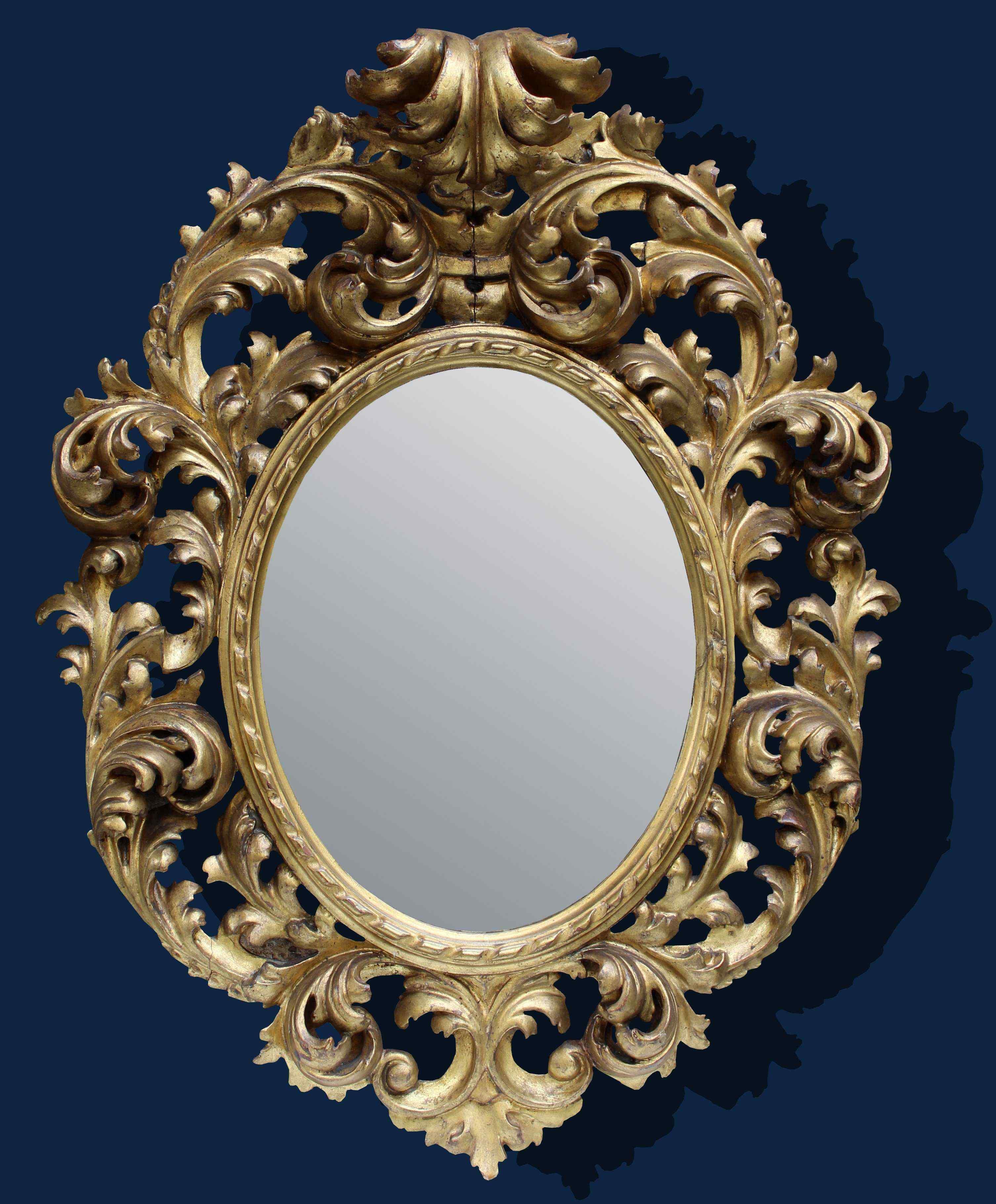End of the XVIII century, Mirror