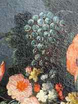 17th Dutch Still Life with Flowers and Fruits-5