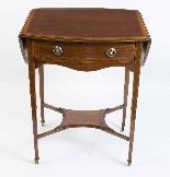 Antico tavolo edoardiano intarsiato occasionale c.1900-1