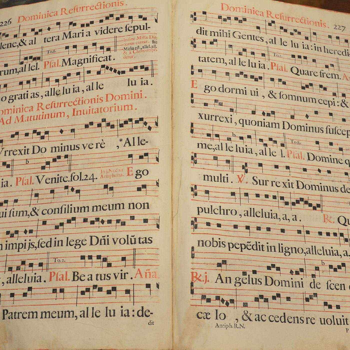 Gregorian songs, Venice XVII century