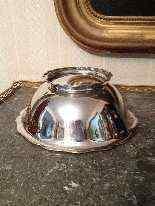 Sterling ciotola d'argento, Svizzera, XIX.-3