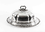 Antique Victorian Old Sheffield Oval Tureen & Domed Cover-5