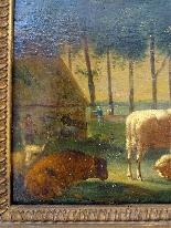 Adriaen Van de Velde 1636-1672 Animali da fattoria-2