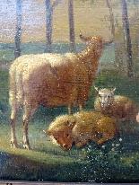 Adriaen Van de Velde 1636-1672 Animali da fattoria-7