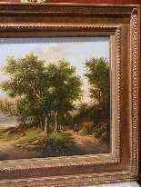 Paesaggio romantico, datato 1855-5