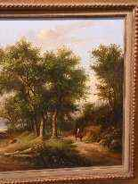 Paesaggio romantico, datato 1855-3
