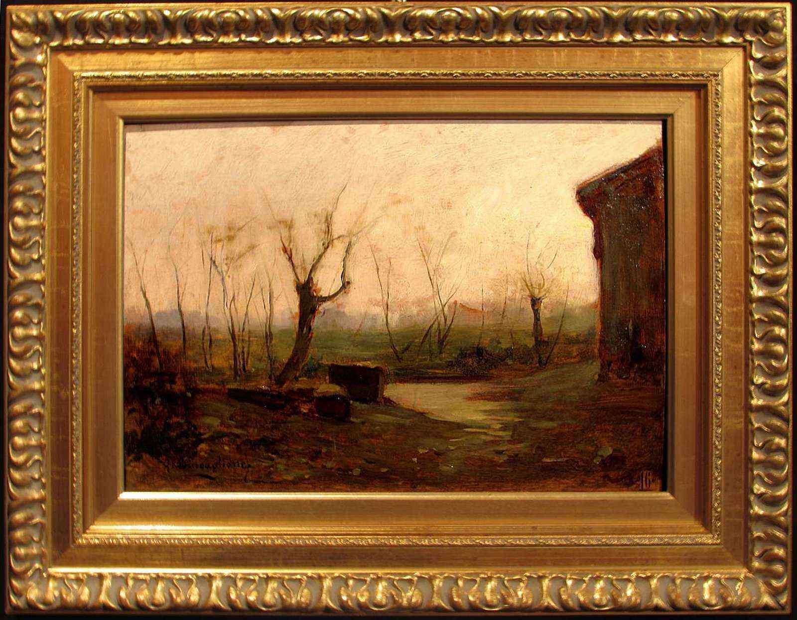 Paesaggio,G.Buscaglione (1868-1928),Torino