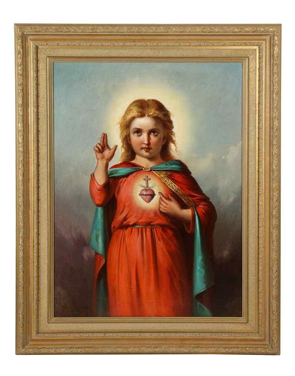 American School, (XIX secolo) Gesù Cristo come un bambino