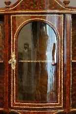 Vitrine A Poser Marquetée Maison Alphonse Giroux XIXème-2