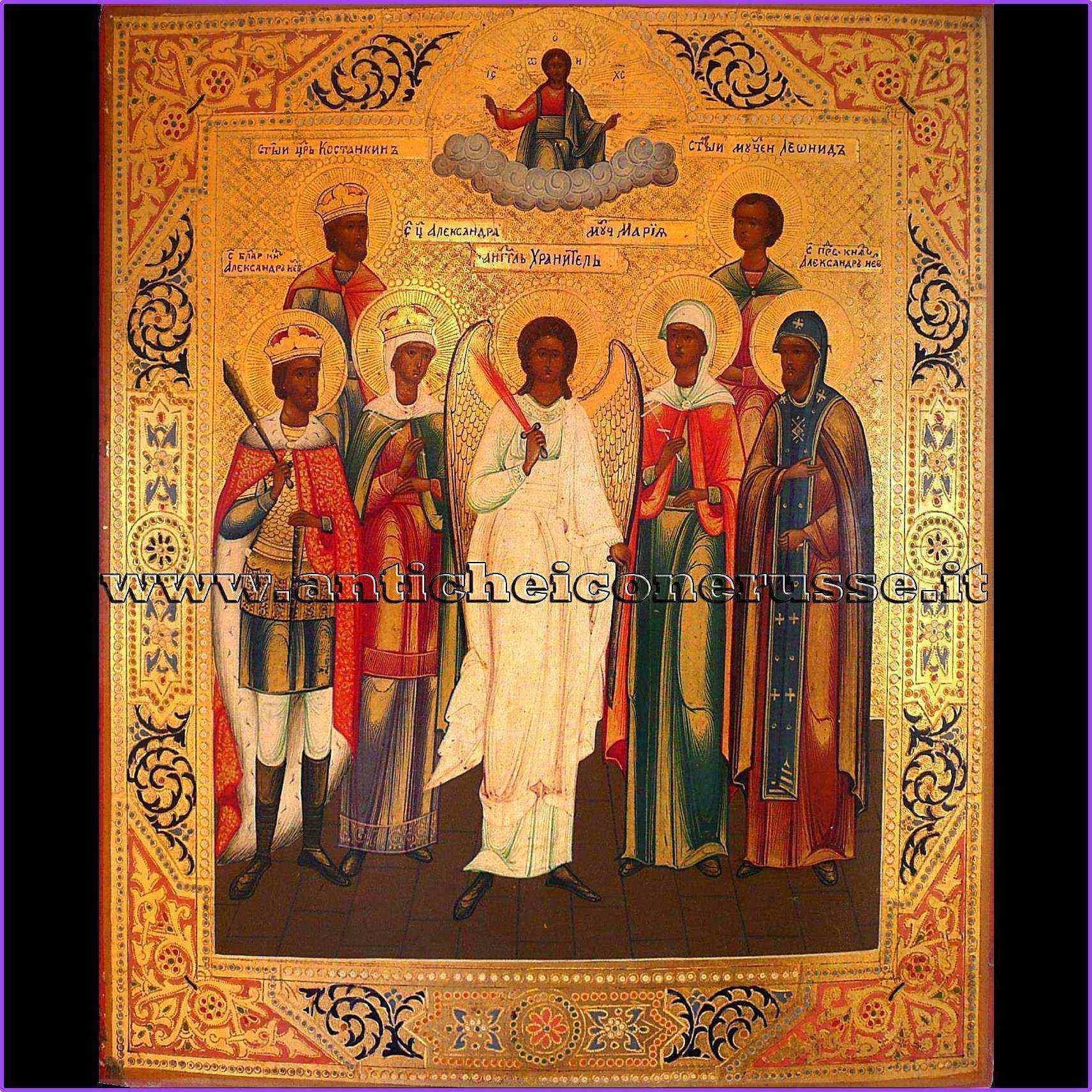 Icona russa del XIX secolo