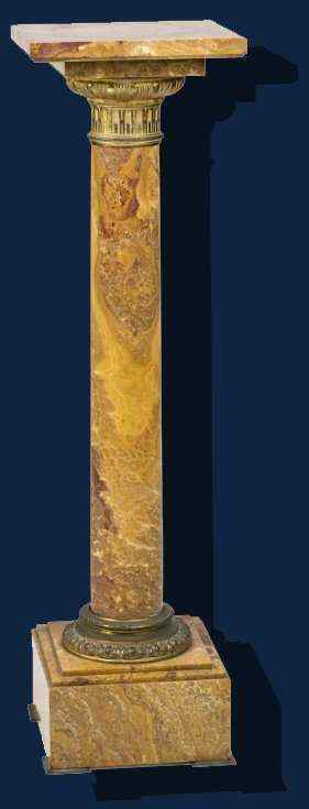 XIX century, Column, Onyx, cm 105 x 30 x 30,5