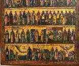 Icône 'Menologion de Juin', Russie, fin du XVIIIe siècle-2
