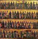 Icône 'Menologion de Juin', Russie, fin du XVIIIe siècle-5