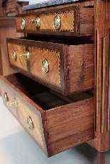 Cassettone antico Luigi XVI, XVIII secolo-11