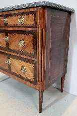 Cassettone antico Luigi XVI, XVIII secolo-3