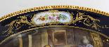 Piatto ovale in porcellana di Sevres antico montato Ormolu, -6
