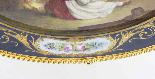 Piatto ovale in porcellana di Sevres antico montato Ormolu, -7