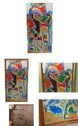 Charles Lapicque, Othello, olio su tela-3