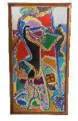 Charles Lapicque, Othello, olio su tela-2