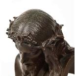 Jean-Baptiste Auguste Clesinger, busto di Gesù in bronzo fra-14