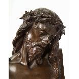 Jean-Baptiste Auguste Clesinger, busto di Gesù in bronzo fra-13