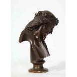 Jean-Baptiste Auguste Clesinger, busto di Gesù in bronzo fra-2