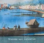 Coppia di vedute di Napoli-14