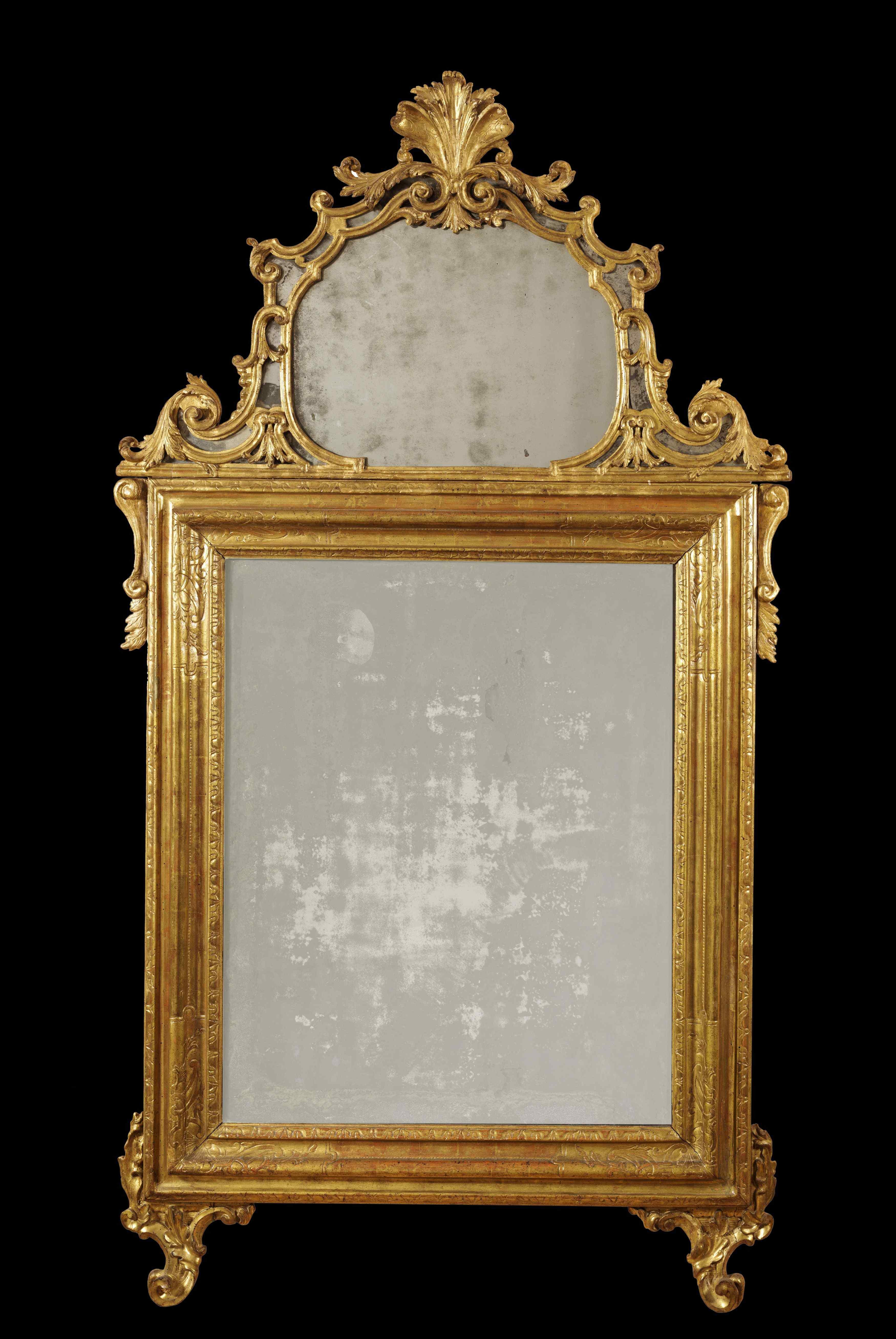 Louis XV mirror Turin