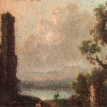 Coppia di paesaggi italiani-5