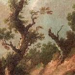 Coppia di paesaggi italiani-6