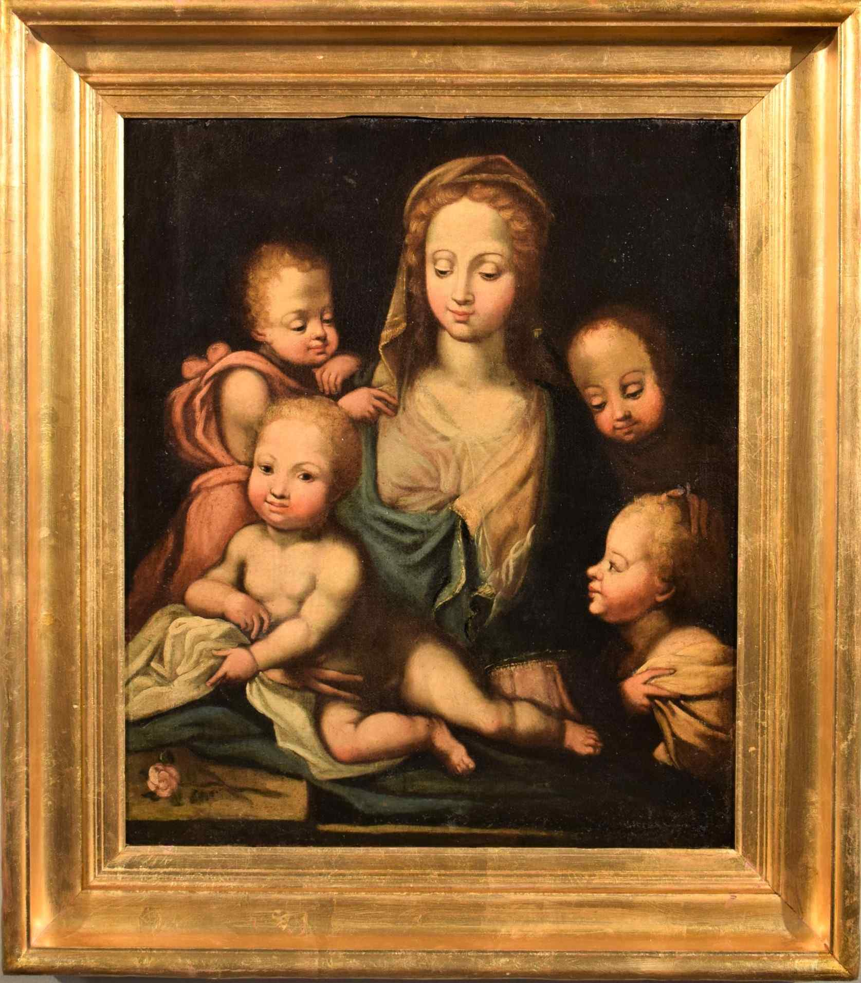 Madonna and Child with Angels (Charity)