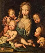 Madonna and Child with Angels (Charity)-1