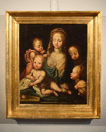 Madonna and Child with Angels (Charity)-7