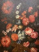 Still life with flowers. French School. The end XVII century-1