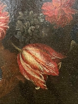 Still life with flowers. French School. The end XVII century-4