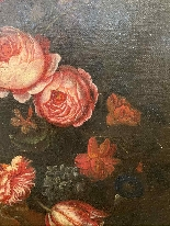 Still life with flowers. French School. The end XVII century-7