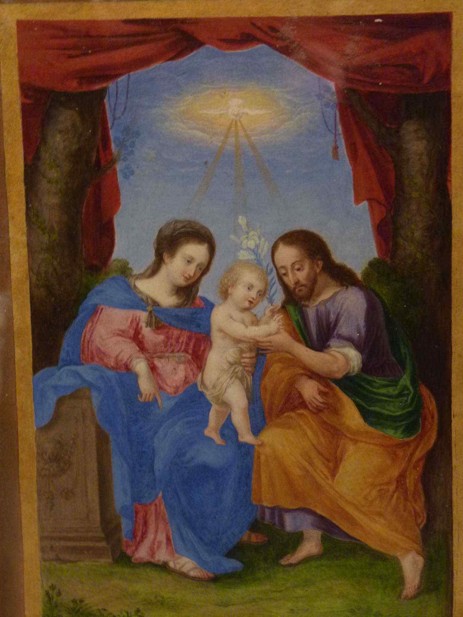 Scuola Italiana, XVIII secolo, Sacra Famiglia