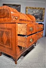 Inlaid flap Louis XVI City of Trento-7