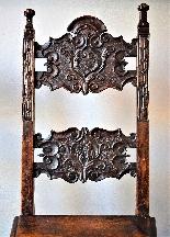 Coppia di sedie Luigi XIV Lombarde-7