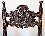 Coppia di sedie Luigi XIV Lombarde-6