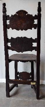 Coppia di sedie Luigi XIV Lombarde-10