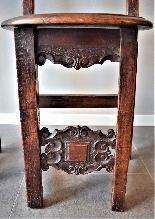 Coppia di sedie Luigi XIV Lombarde-8