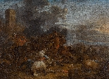 Arnold Frans Rubens: 'Una Battaglia contro i Turchi'-1