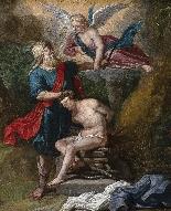 Abraham Willemsens: 'Il sacrificio di Isacco'-1