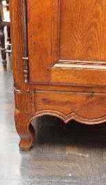 Credenza in rovere biondo Luigi XV-2
