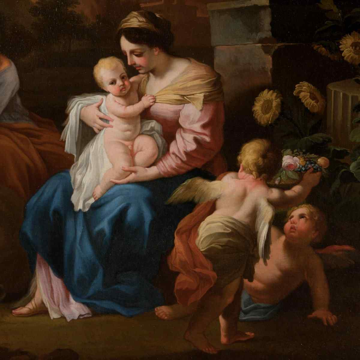 Francesco Solimena XVII secolo olio su tela