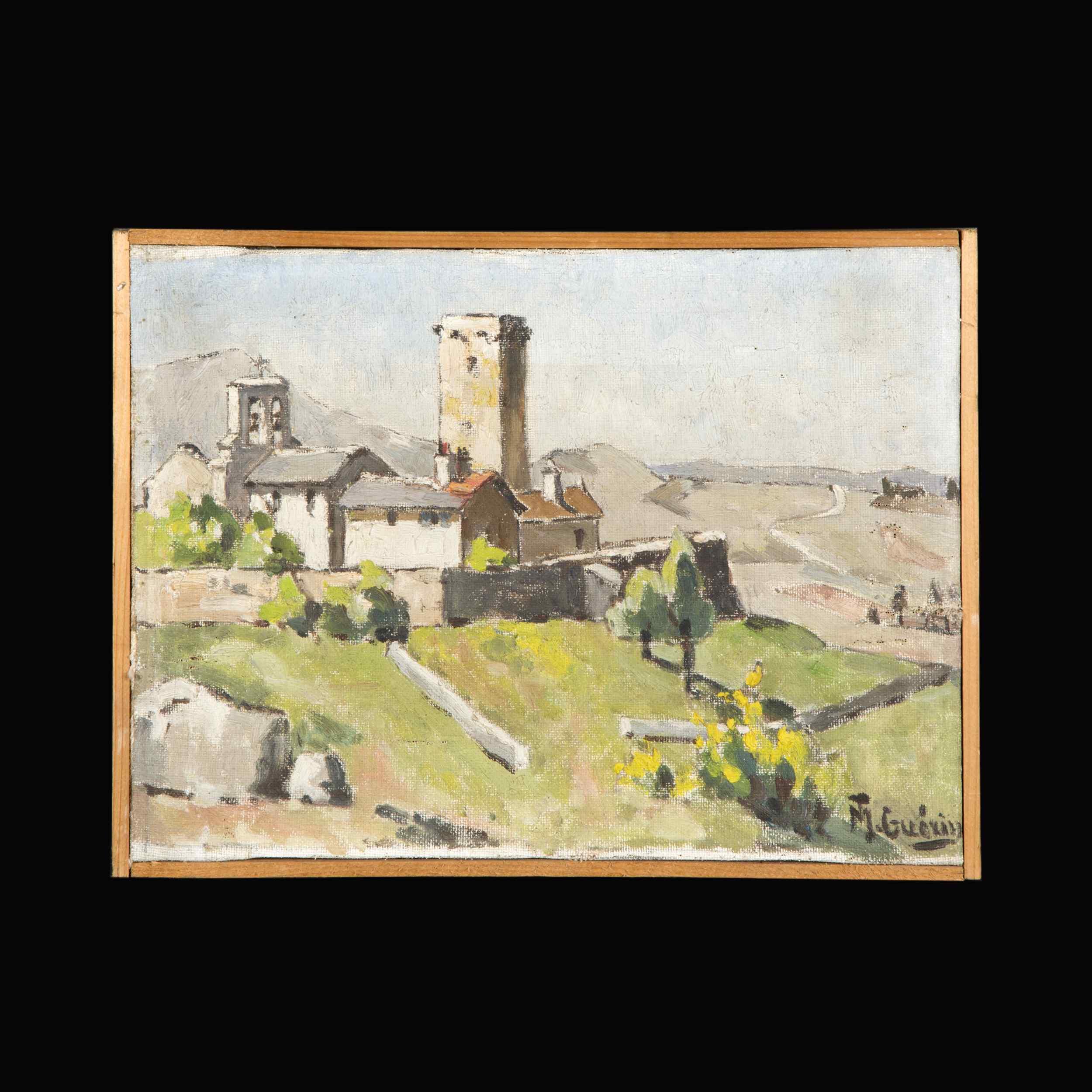 Mt Guérin, paire de paysages, XX secolo