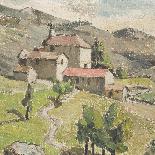 Mt Guérin, paire de paysages, XX secolo-5